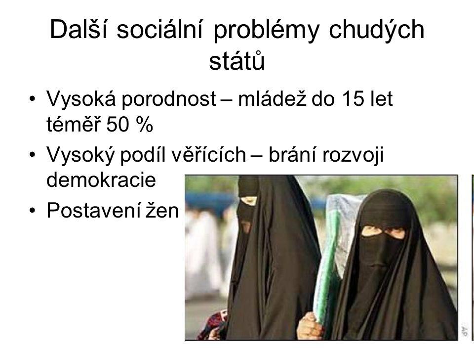 Další sociální problémy chudých států