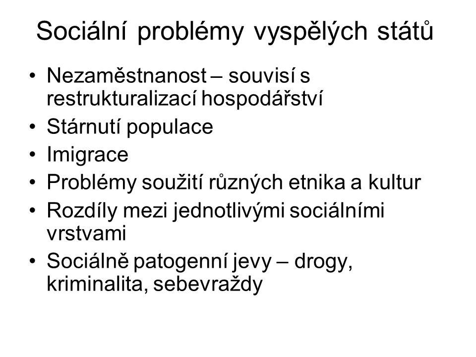 Sociální problémy vyspělých států