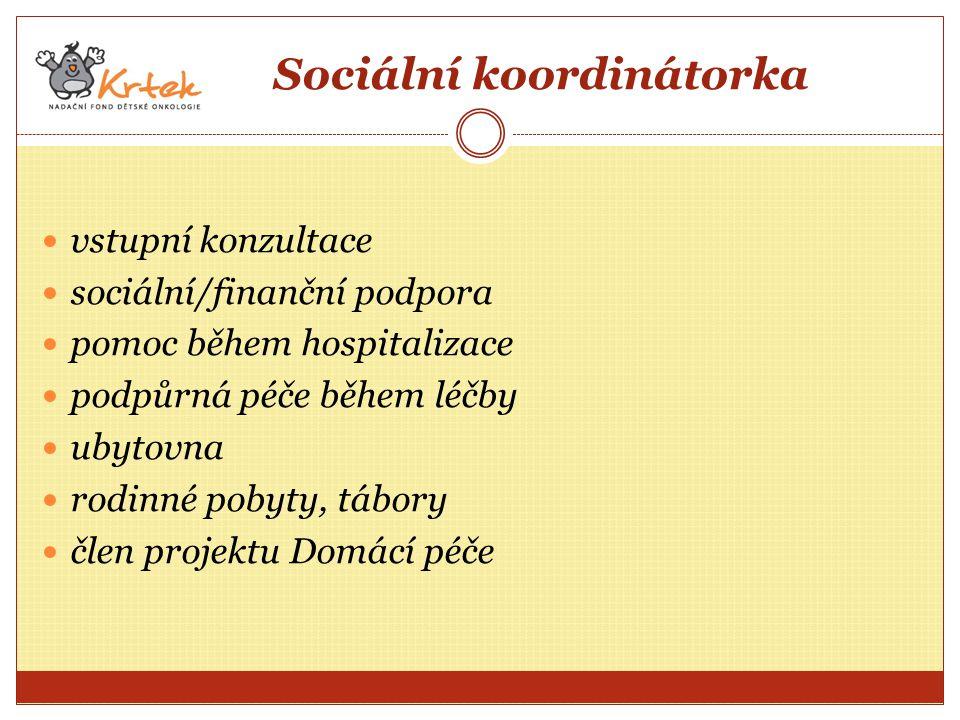 Sociální koordinátorka