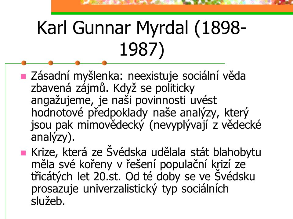 Karl Gunnar Myrdal (1898-1987)