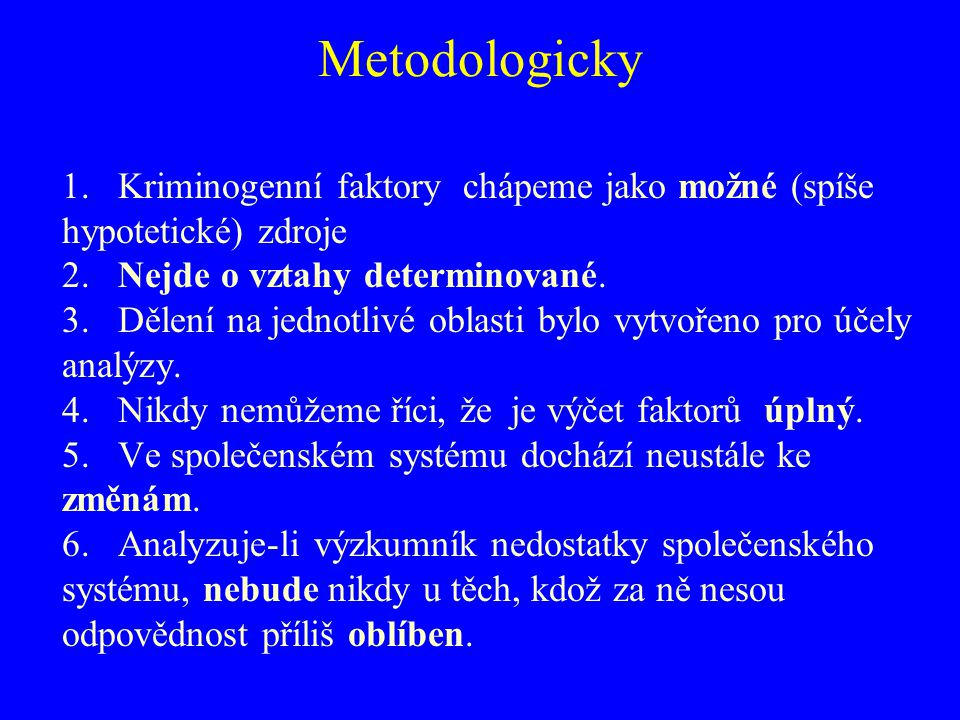 Metodologicky