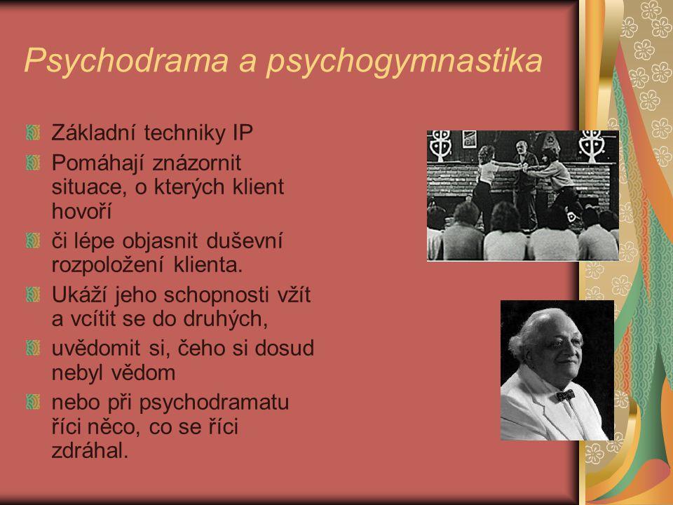 Psychodrama a psychogymnastika