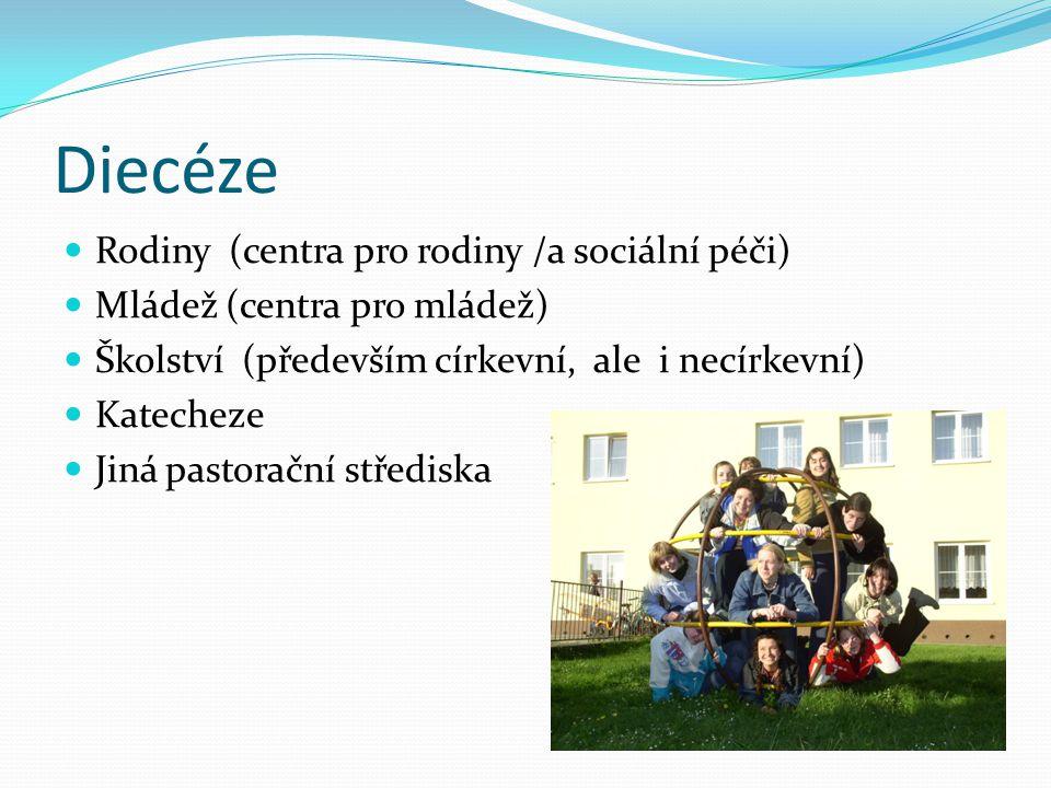 Diecéze Rodiny (centra pro rodiny /a sociální péči)