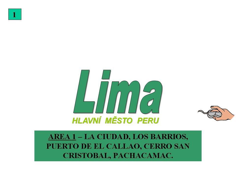 HLAVNÍ MĚSTO PERU