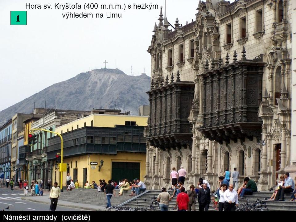 Hora sv. Kryštofa (400 m.n.m.) s hezkým výhledem na Limu
