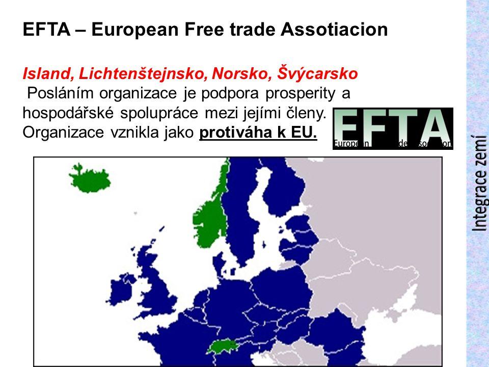 EFTA – European Free trade Assotiacion