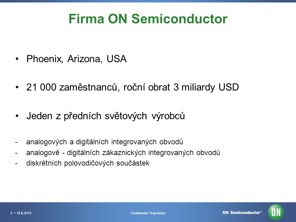 Firma ON Semiconductor