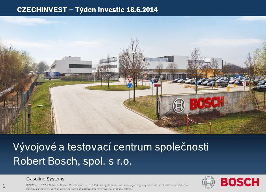 Vývojové a testovací centrum společnosti Robert Bosch, spol. s r.o.