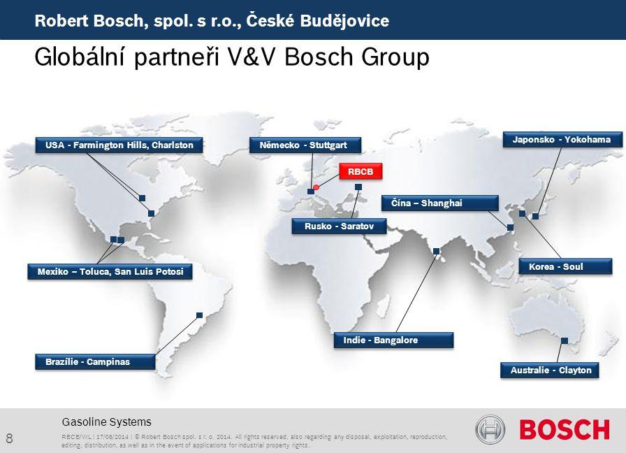 Globální partneři V&V Bosch Group