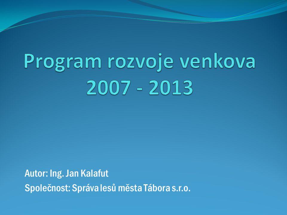 Program rozvoje venkova 2007 - 2013