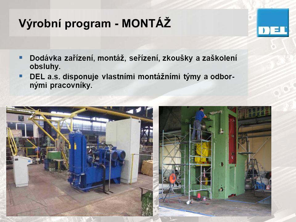 Výrobní program - MONTÁŽ