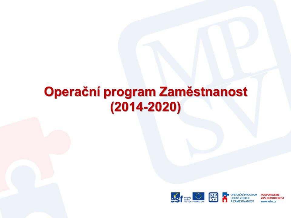Operační program Zaměstnanost