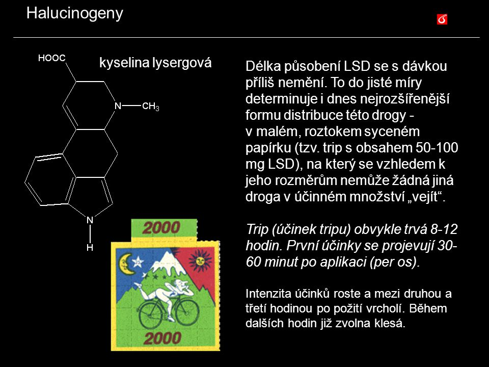 Halucinogeny kyselina lysergová