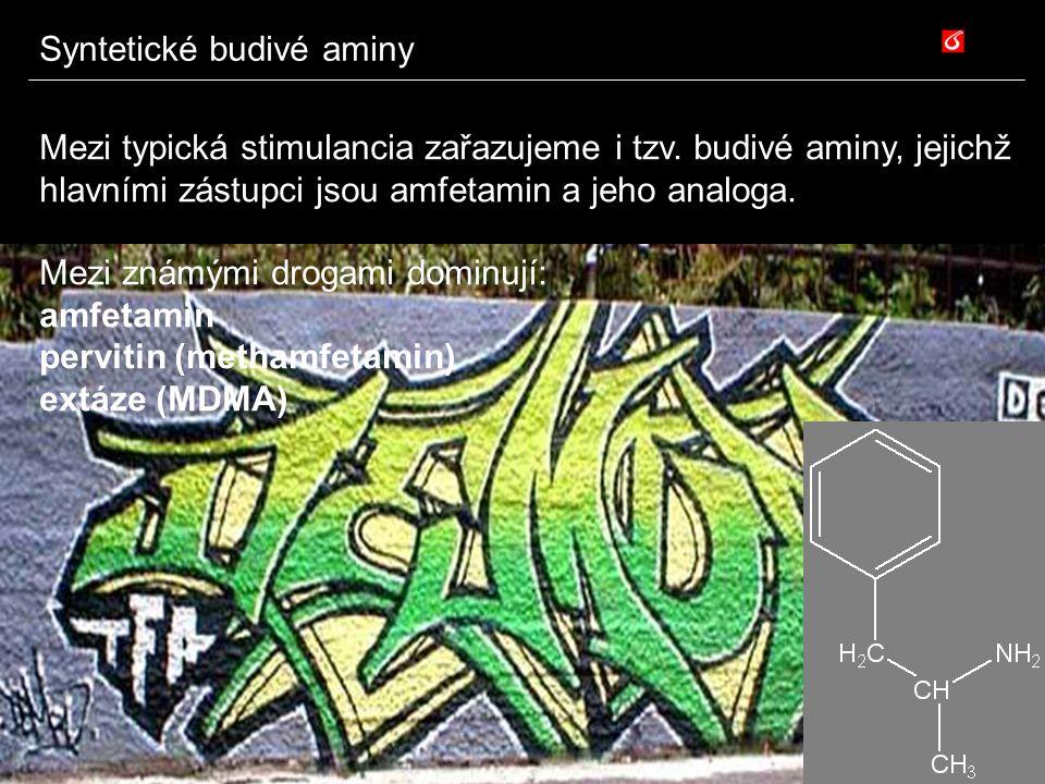 Syntetické budivé aminy