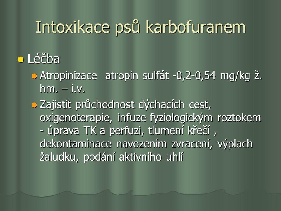 Intoxikace psů karbofuranem