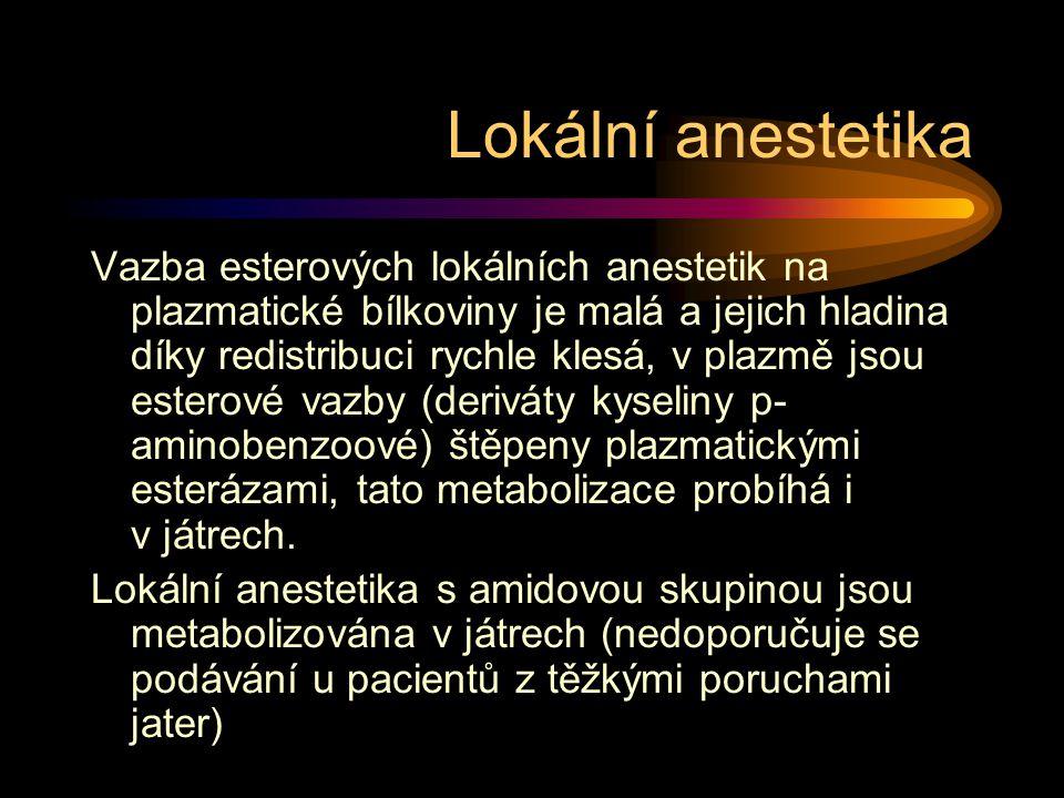 Lokální anestetika