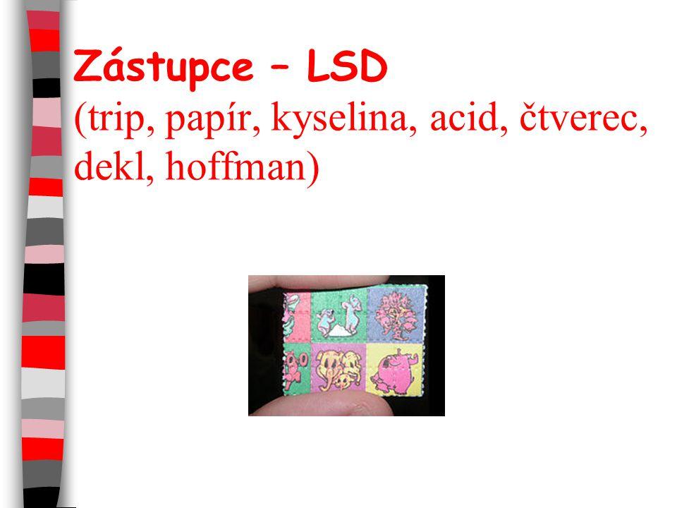 Zástupce – LSD (trip, papír, kyselina, acid, čtverec, dekl, hoffman)