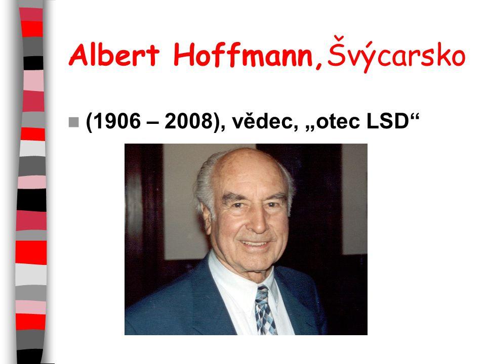 Albert Hoffmann,Švýcarsko