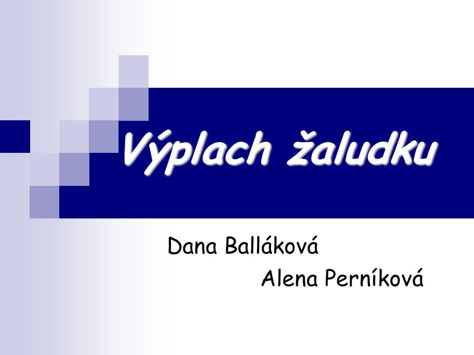 Dana Balláková Alena Perníková