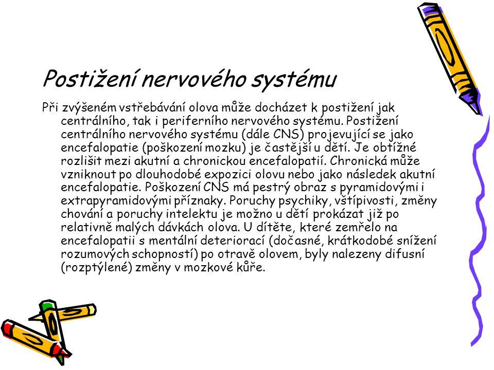 Postižení nervového systému