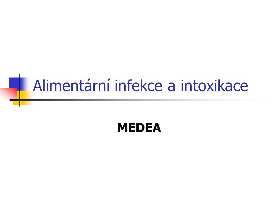 Alimentární infekce a intoxikace