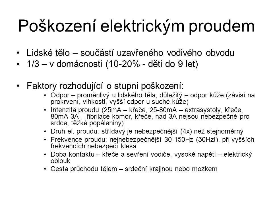 Poškození elektrickým proudem