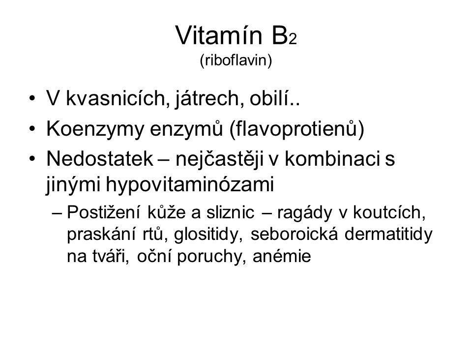 Vitamín B2 (riboflavin)