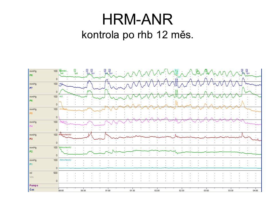 HRM-ANR kontrola po rhb 12 měs.