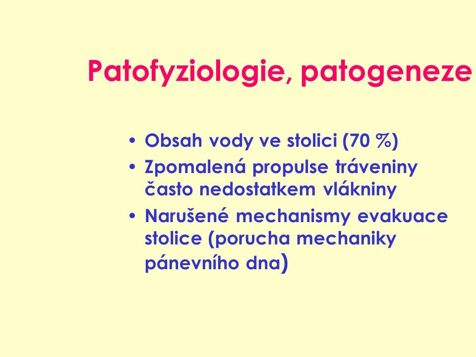 Patofyziologie, patogeneze