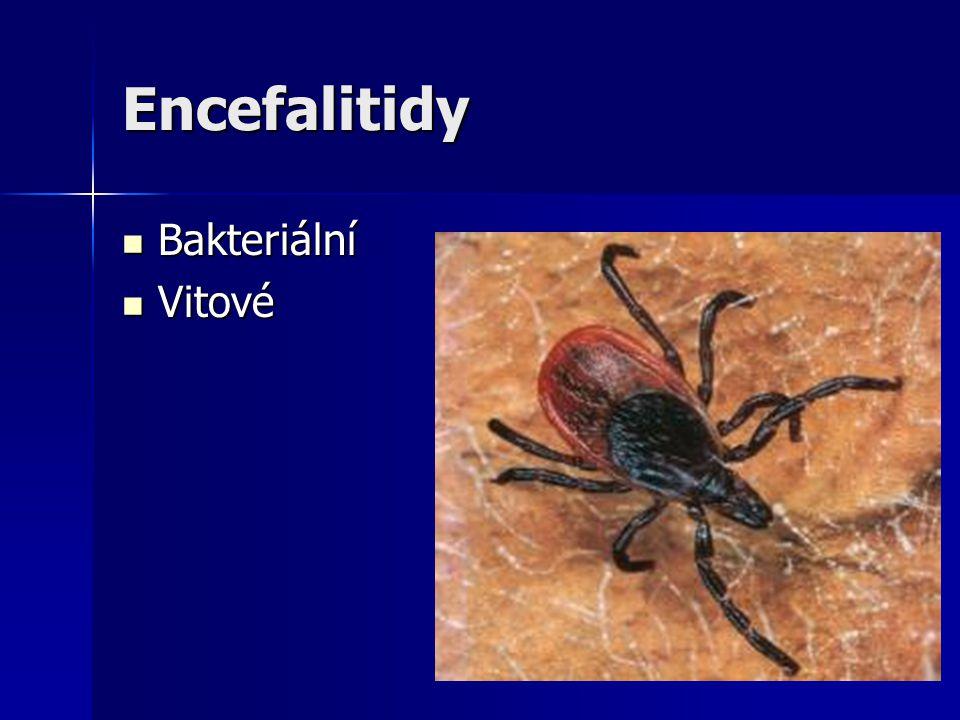 Encefalitidy Bakteriální Vitové