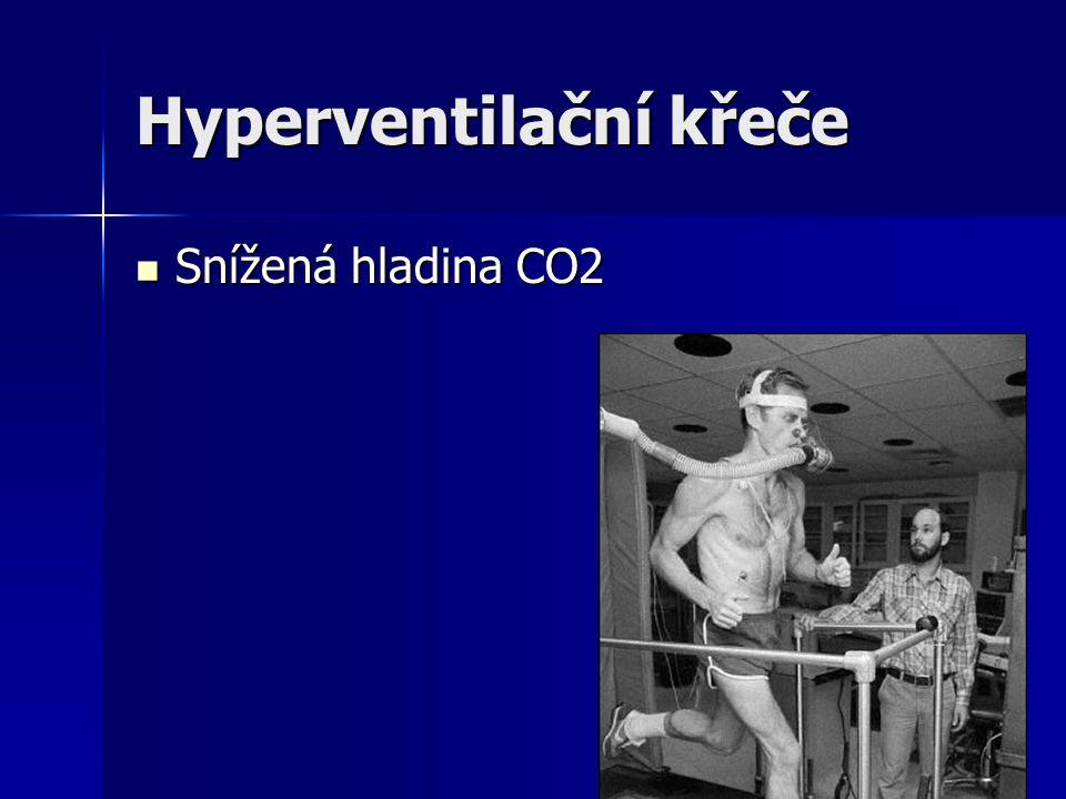 Hyperventilační křeče