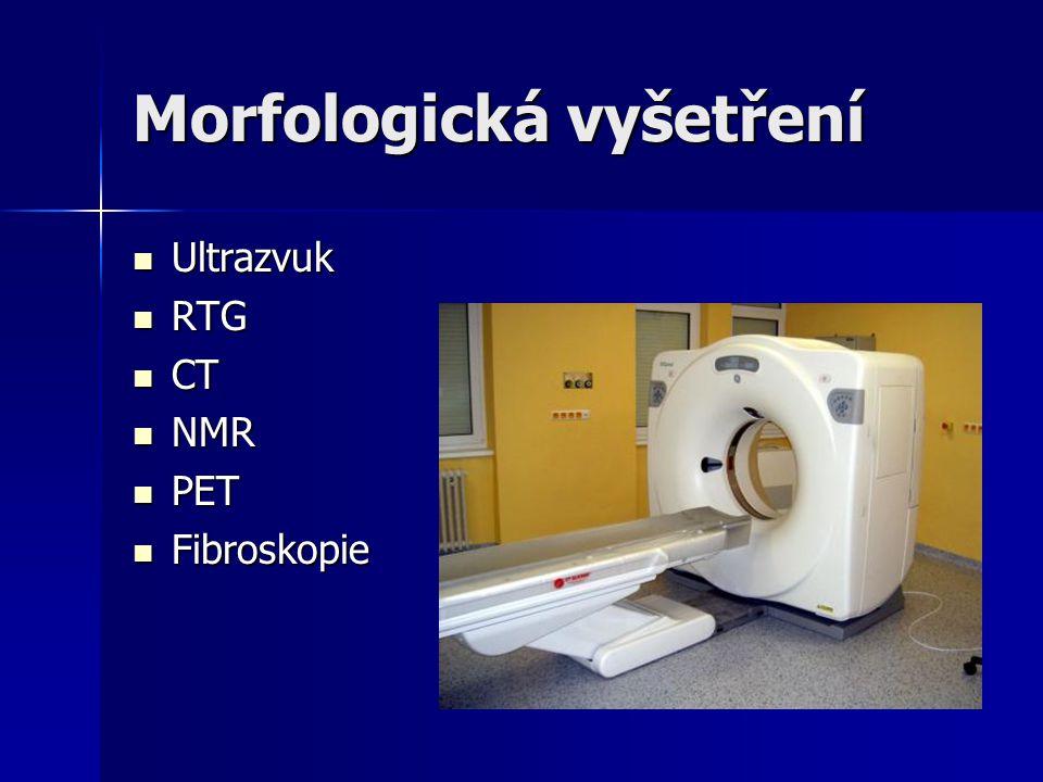 Morfologická vyšetření