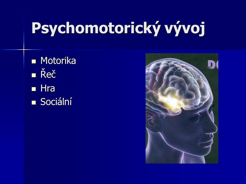 Psychomotorický vývoj