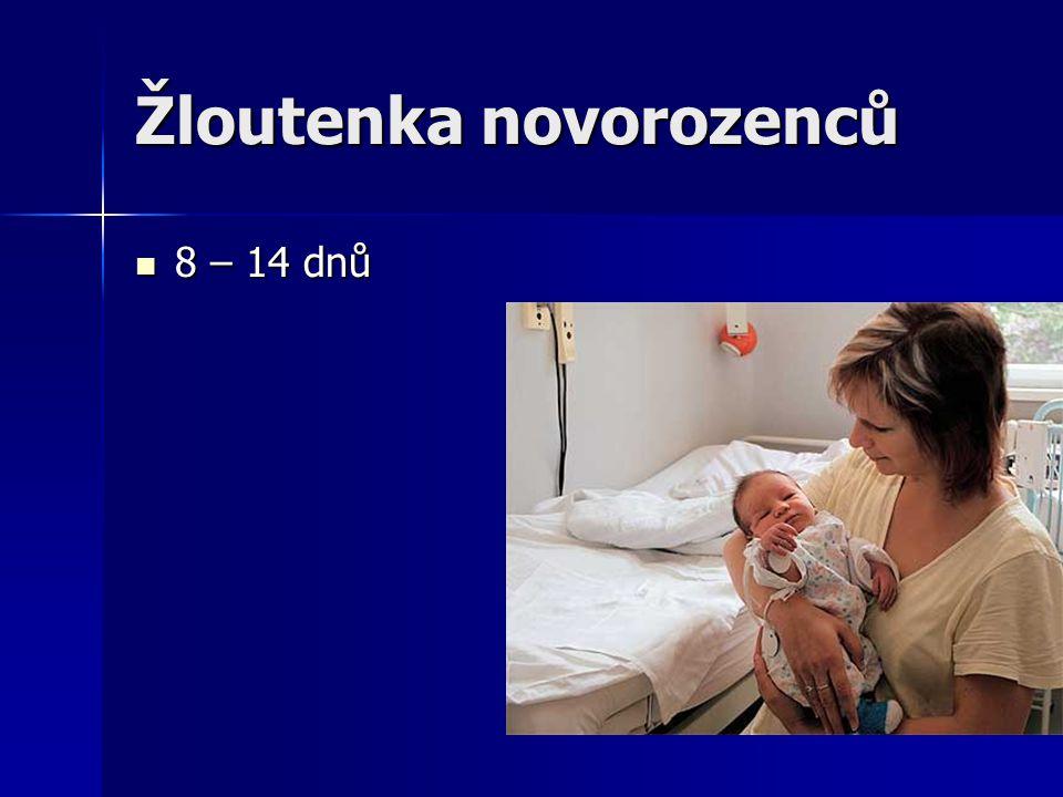 Žloutenka novorozenců