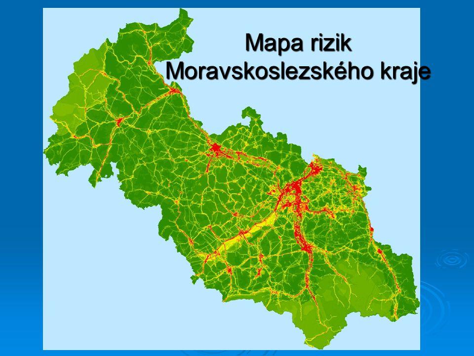 Mapa rizik Moravskoslezského kraje