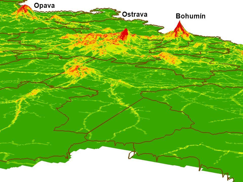 Opava Ostrava Bohumín