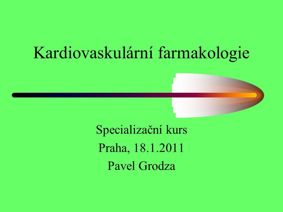 Kardiovaskulární farmakologie