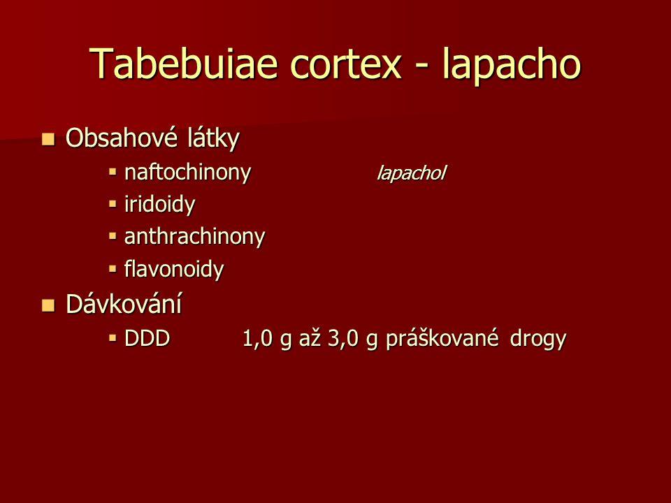 Tabebuiae cortex - lapacho