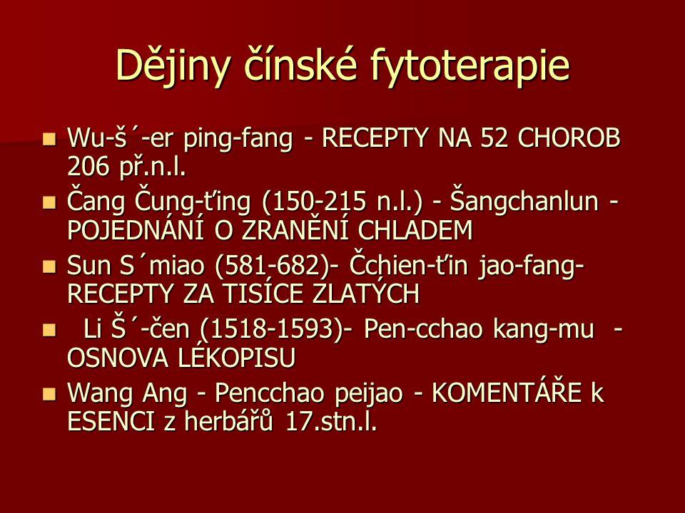 Dějiny čínské fytoterapie