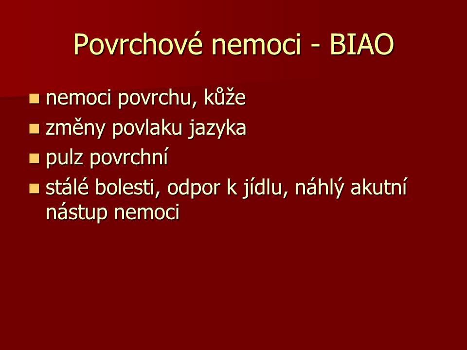 Povrchové nemoci - BIAO