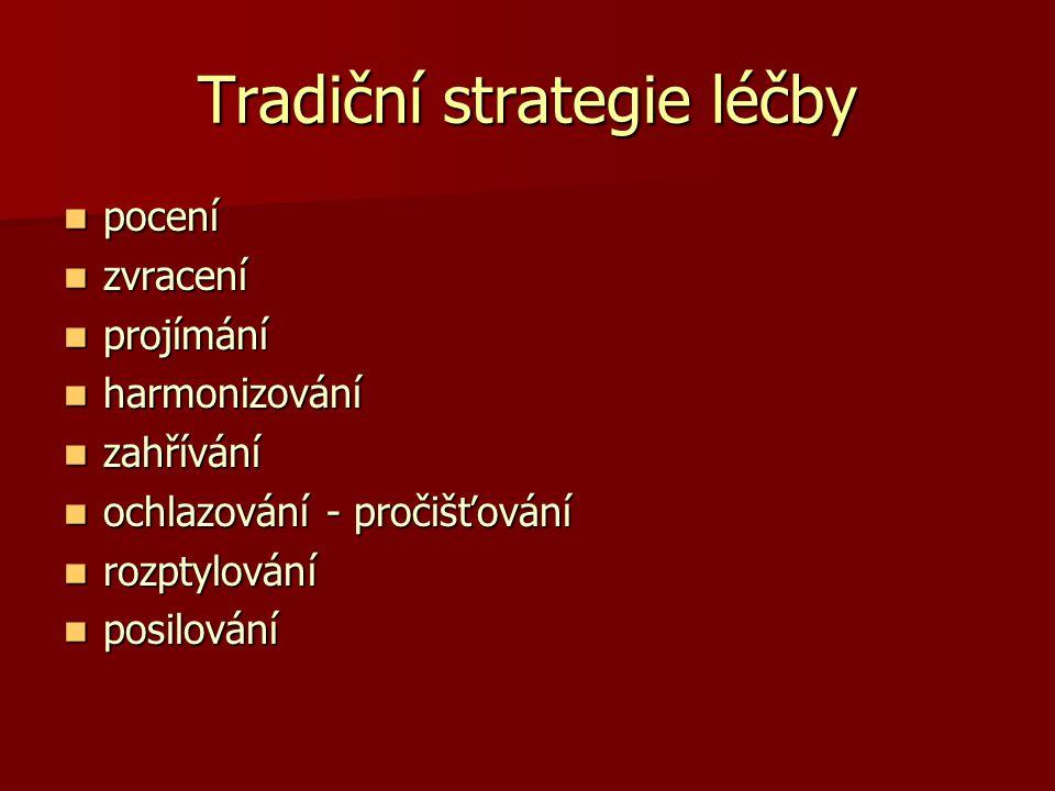 Tradiční strategie léčby