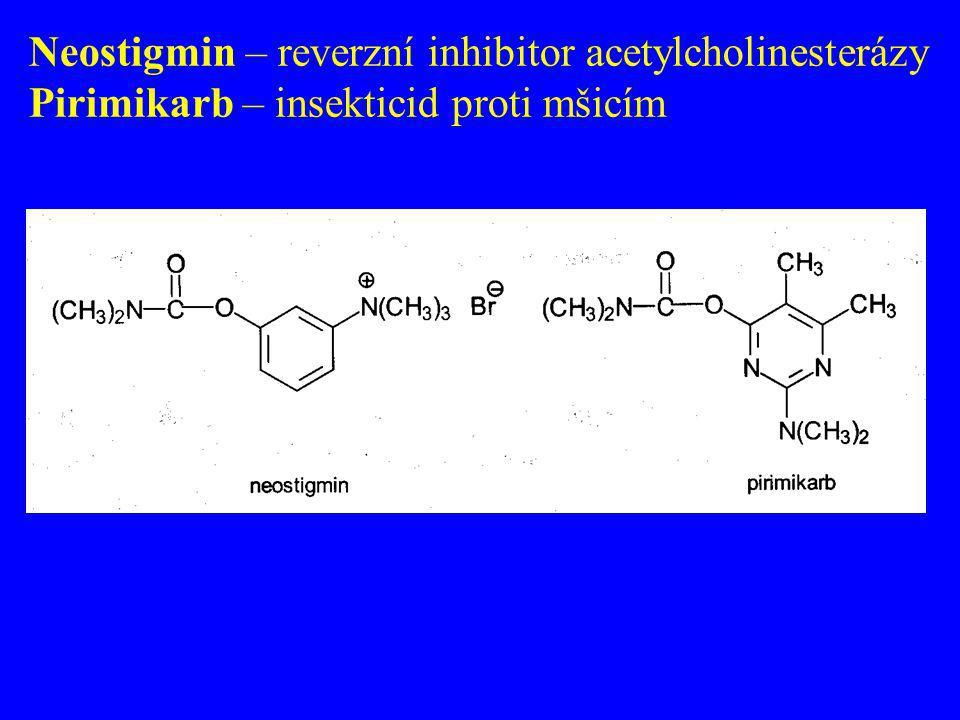 Neostigmin – reverzní inhibitor acetylcholinesterázy