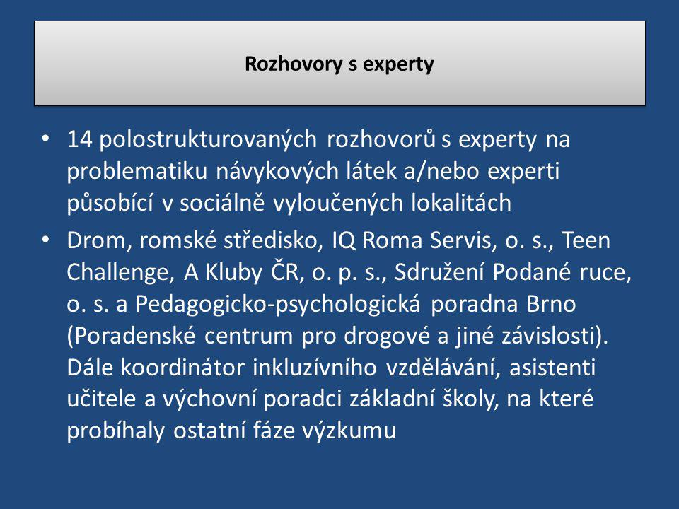 Rozhovory s experty