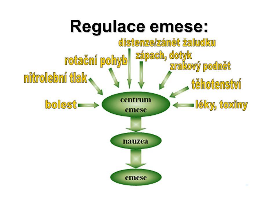 Regulace emese: