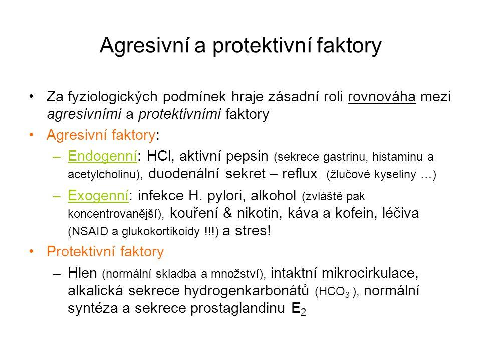 Agresivní a protektivní faktory