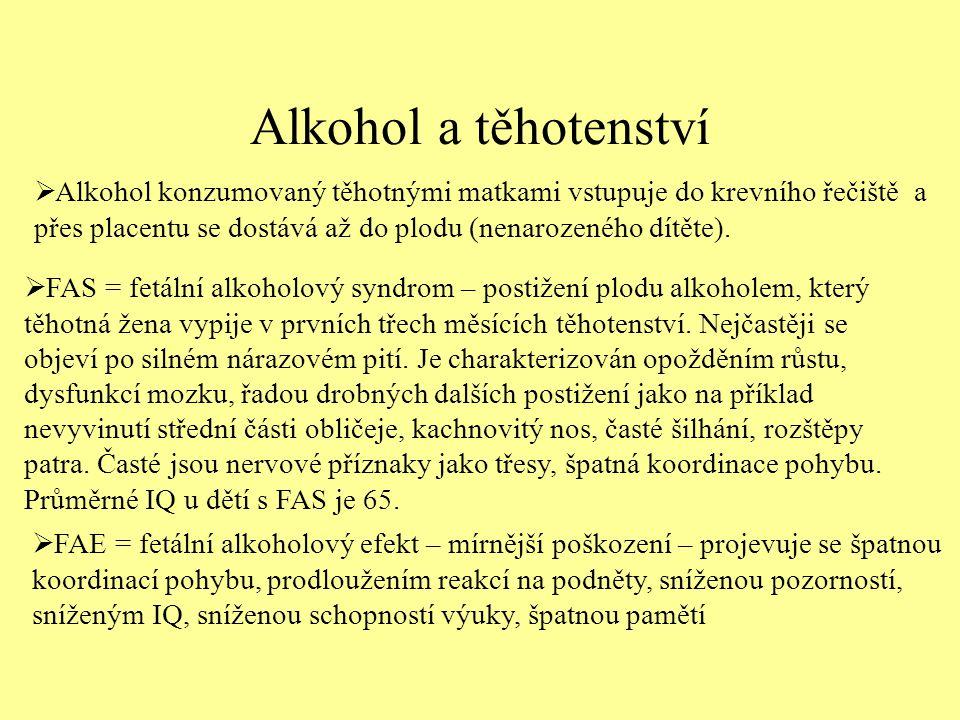 Alkohol a těhotenství