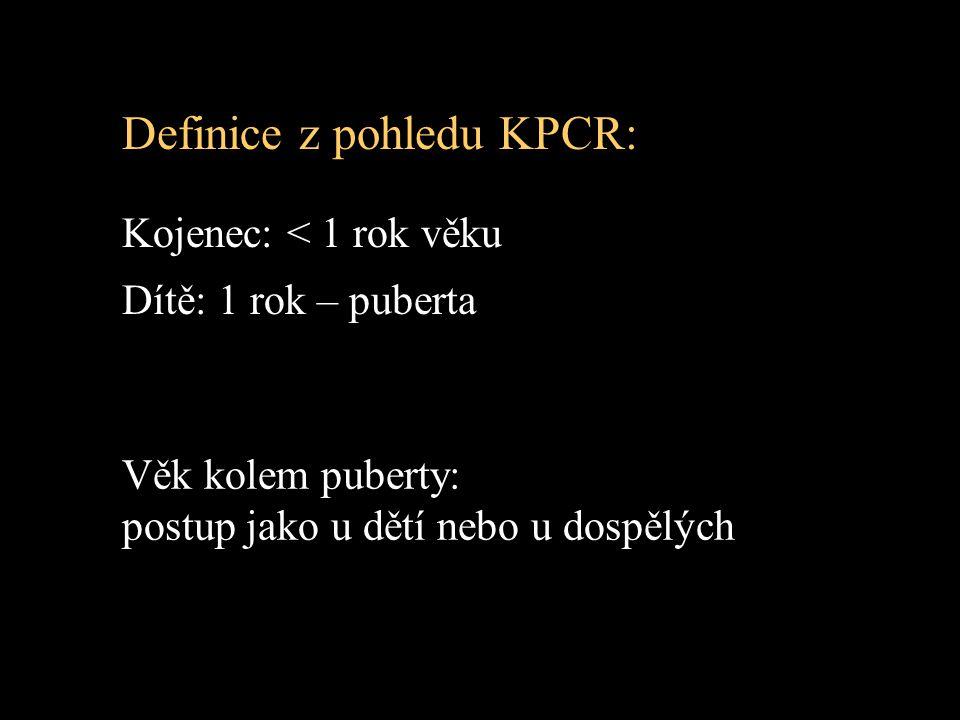 Definice z pohledu KPCR:
