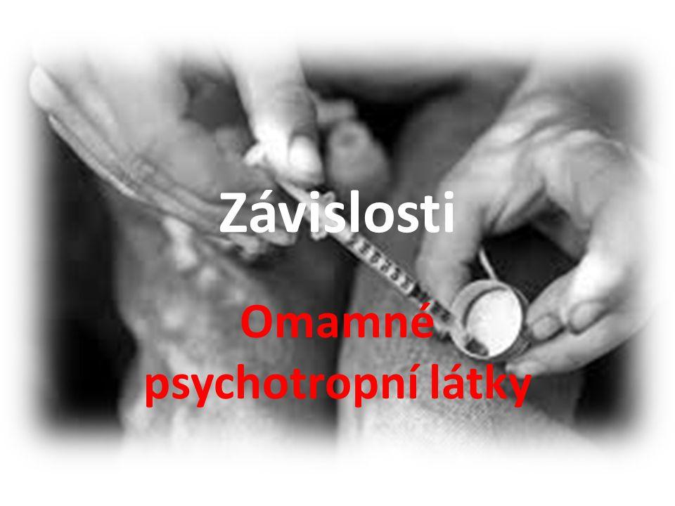 Omamné psychotropní látky