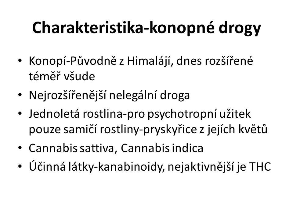 Charakteristika-konopné drogy