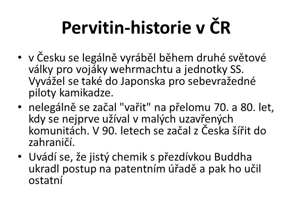 Pervitin-historie v ČR